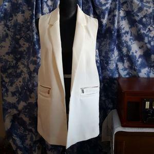 Dynamite Long Tunic Open Front Vest (Never Worn)